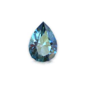 Blue-Green Montana Sapphire- Pear 1.86 carat