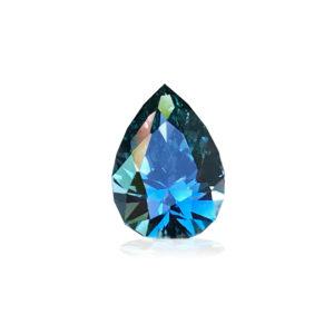 Bluegreen Montana Sapphire-Pear 2.65ct