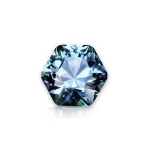 Blue Montana Sapphire- Hexagon 1.21cts 148070