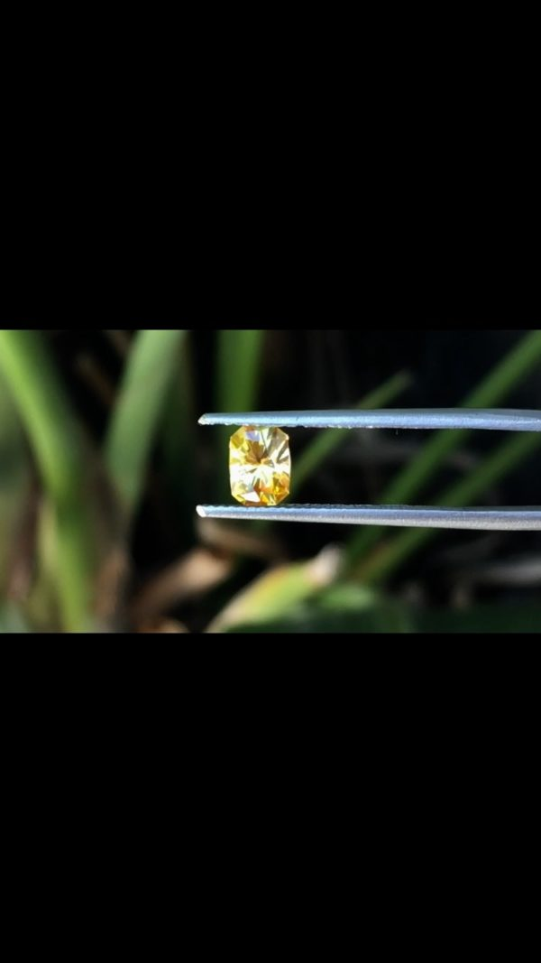 'Divine Radiance' Montana Yellow Sapphire-.99 carats 148109