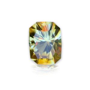 'Divine Radiance' Montana Yellow Sapphire-.99 carats