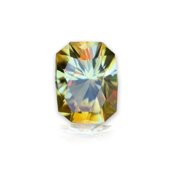 'Divine Radiance' Montana Yellow Sapphire-.99 carats