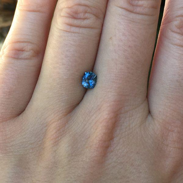 'Secret Cove' Blue Montana Sapphire .75 carats 1835