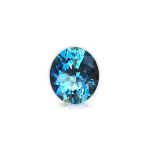 Blue-Green Sapphire - Oval 1.29 cts 28140