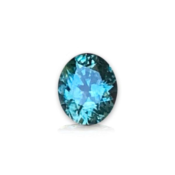 Green Montana Sapphire - Oval .97 carats 38461
