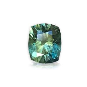 Teal Montana Sapphire Cushion-1.02 carats 48656