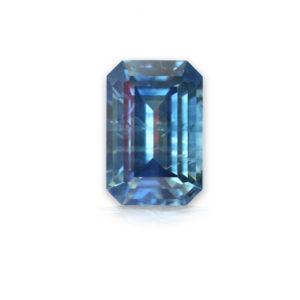 Blue Montana Sapphire-Emerald Cut 1.53cts