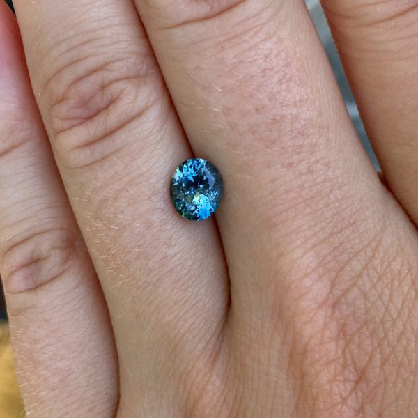 Blue Montana Sapphire-Oval 1.44 carats 1804