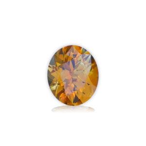 Orange Montana Sapphire-Oval 1.26 carats 28116