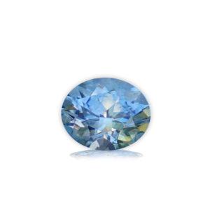Light Blue-White Montana Sapphire-Oval 1.35 Carats 2877