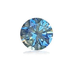 Blue-green Montana Sapphire-round 1.15 carats 168068-r