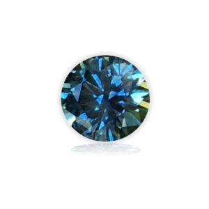 Blue-Green Montana Sapphire®-Round .98 carats