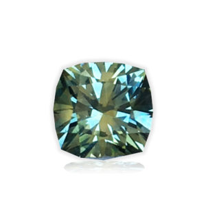 Multi Color Montana Sapphire®-Square Antique Cushion .98 carats