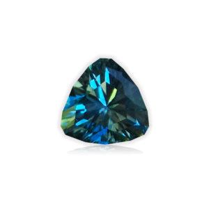 Blue Montana Sapphire-Trillion .91 carats