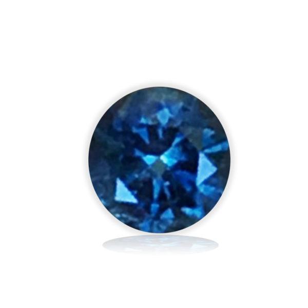 Blue Montana Sapphire-Round .81ct