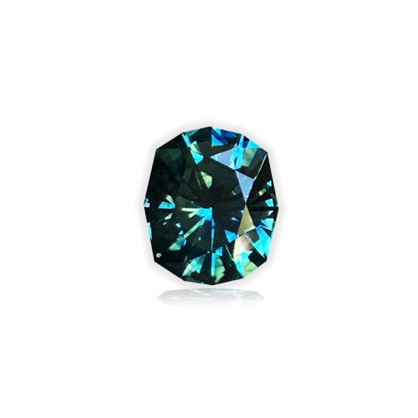 Blue-green Montana Sapphire®-Secret Cove 1.12 carats