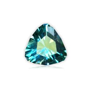 Blue Montana Sapphire-Trillion .89 carats