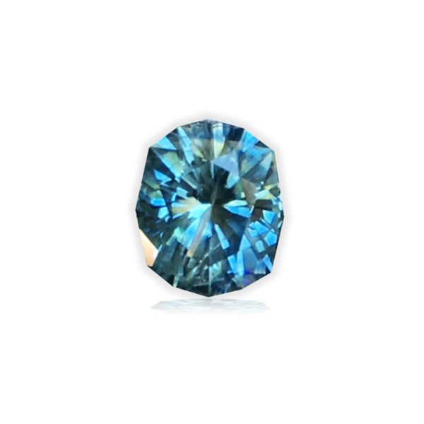 Blue-green Montana Sapphire- Secret Cove 1 carat