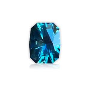 'Divine Radiance' Blue Montana Sapphire-Cushion 1.12cts