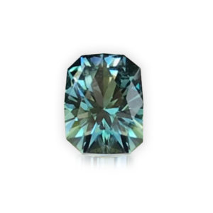 'Divine Radiance' Blue-Green Montana Sapphire- Cushion 1.59cts