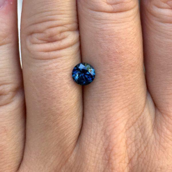 Blue Montana Sapphire - Round 1.31 carats