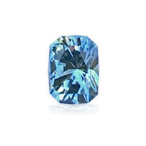 Unheated White Blue Montana Sapphire - Oval.78 carats