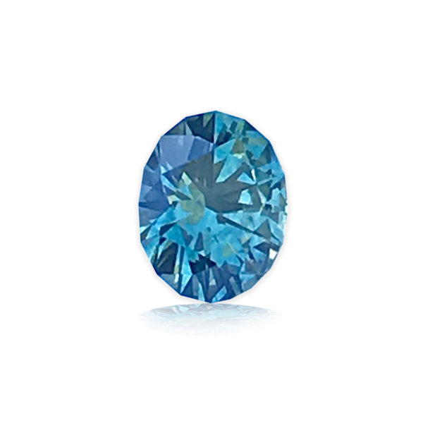 Montana Sapphire Green - Square Cushion .94 carats