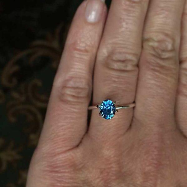 Montana Sapphire Blue - Oval 1.70 carats