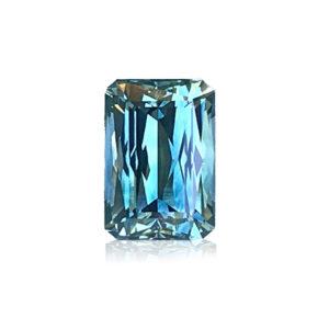 Bluegreen Montana Sapphire-Shear Design 1.70cts