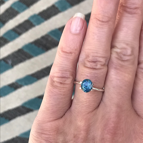 Montana Sapphire Blue - Oval 1.98 cts