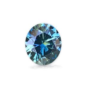 Blue-green Montana Sapphire-Oval 1.33 Carats