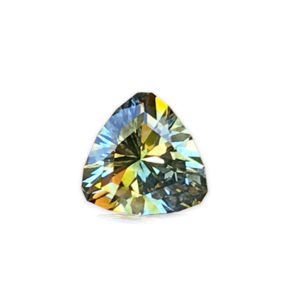Unheated Parti-Color Montana Sapphire – Oval.61 carats