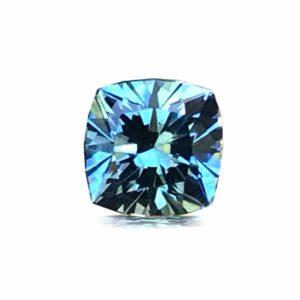 Unheated Blue Montana Sapphire – Square Cushion 1.03 cts