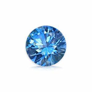 Unheated Blue-Green Montana Sapphire – Round .74cts