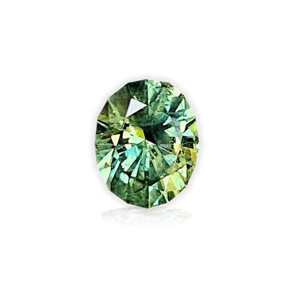 Teal Montana Sapphire- Oval .82 carats