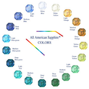 All American Sapphire® Colors