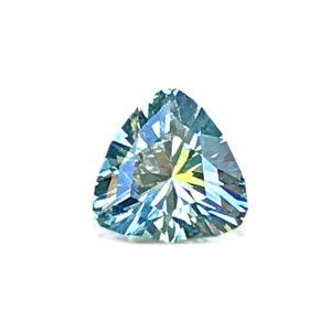 Light Blue-green Montana Sapphire- Trillion 1.05cts