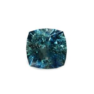 Teal Montana Sapphire - Square Cushion 1.13 Carats