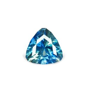 Teal Montana Sapphire - Trillion .74 Carats