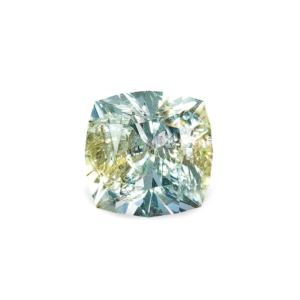 White Montana Sapphire - Square Cushion .89 Carats