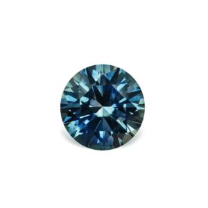 Teal Montana Sapphire - Round 1.19 Carats