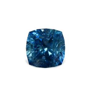 Blue Montana Sapphire - Antique Cushion 1 Carat