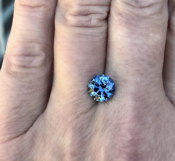 Blue Montana Sapphire - Round 2.84 carats