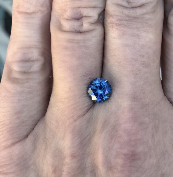 Blue Montana Sapphire - Round 2.06 carats 128091