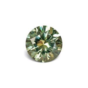 Green Montana Sapphire - Round .70 Carats