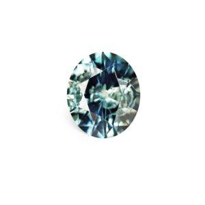 Blue Green Montana Sapphire - Oval .70 Carats