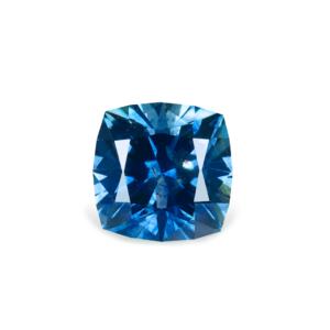 Blue Montana Sapphire - Square Cushion 1.60 Carats